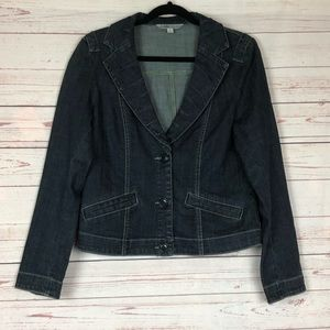CAbi # 860 Denim Jean Jacket Size M